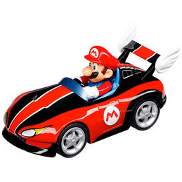 Blister coche Mario pull speed wild wing Wii Nintendo