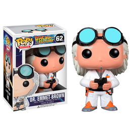 Figura POP Vinyl Doc Brown Regreso al futuro