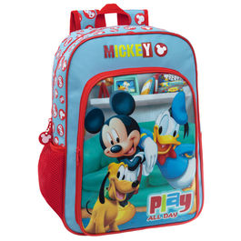 Mochila Mickey Disney Play adaptable 40cm