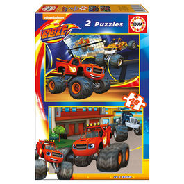 Puzzle Blaze and the Monster Machine 2x48pz
