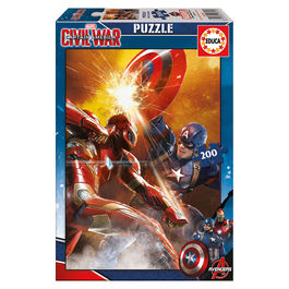 Puzzle Capitan America Civil War Marvel 200pz