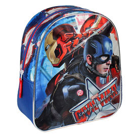 Mochila Capitan America Civil War Side 28cm
