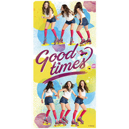 Soy Luna Good Times beach towell cotton