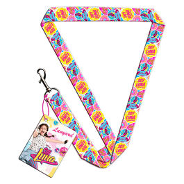 Soy Luna Enjoy Love lanyard with rubber