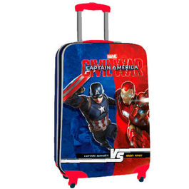 Maleta trolley ABS Vengadores Capitan America Civil War 55cm 4r