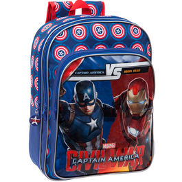 Mochila Capitan America Civil War Marvel Versus adaptable 42cm