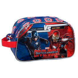 Neceser Capitan America Civil War Marvel Versus adaptable