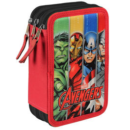 Plumier Vengadores Avengers Marvel The Team triple