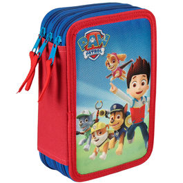 Plumier Paw Patrol Patrulla Canina Go triple
