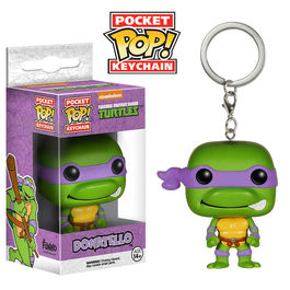 Llavero Pocket POP Donatello Tortugas Ninja