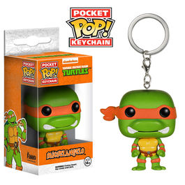 Llavero Pocket POP Michelangelo Tortugas Ninja