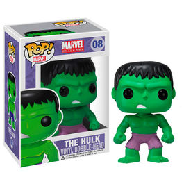 Figura POP Vinyl Bobble Head Hulk Marvel