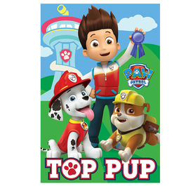 Paw Patrol Top Pup polar fleece blanket
