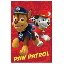 Paw Patrol Marshall Chase polar fleece blanket