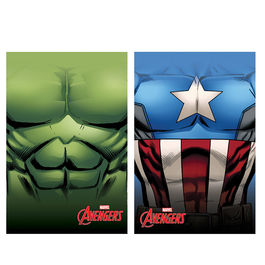 Captain America Hulk Avengers Marvel polar fleece blanket