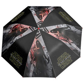 Paraguas antiviento plegable Star Wars Episodio VII 50cm