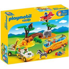 Gran Safari Africano Playmobil 1.2.3