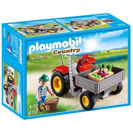 Playmobil Country Farm harvesting tractor