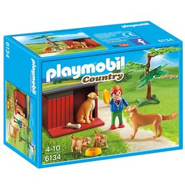 Playmobil Country Golden retrievers with boy