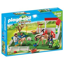 Playmobil Country Paddock super set with horses