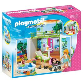 Cofre bungalow playa Playmobil Summer Fun