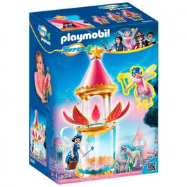 Torre flor mágica Playmobil Super 4 musical twinkle