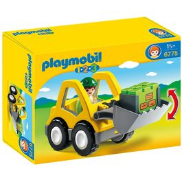 Mini excavadora Playmobil 1.2.3