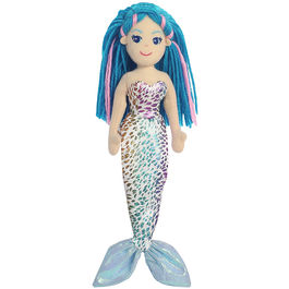 Plush Toy Mermaid Nerine Sea Sparkles 26cm