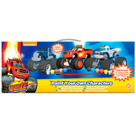 Blaze and the Monster Machines Paint your own characters set