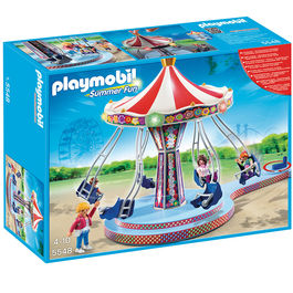 Carrusel columpios voladores Playmobil Summer Fun