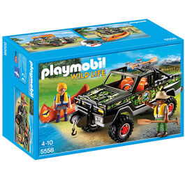 Camioneta pick up aventura Playmobil Wild Life