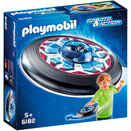 Disco Volador celestial con Alien Playmobil Sports Action