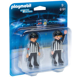 Arbitros hockey hielo Playmobil Sports Action