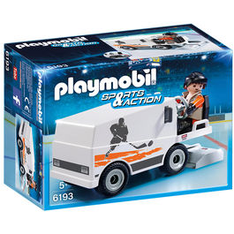 Pulidora hielo Playmobil Sports Action
