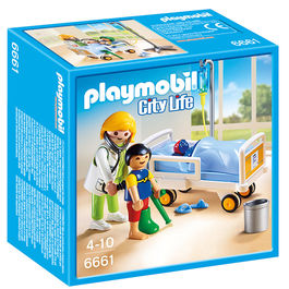 Doctor con niño Playmobil City Life