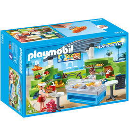 Splish Splash cafe Playmobil Summer Fun