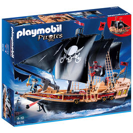 Buque Corsario Playmobil Pirates