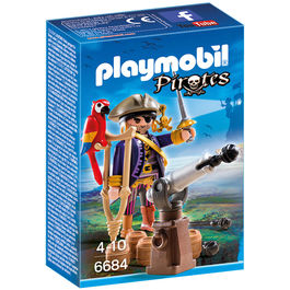 Capitan pirata Playmobil Pirates