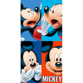 Toalla Mickey Disney Faces algodon