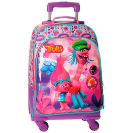 Trolley mochila Trolls Friends 4r 46cm