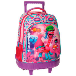 Trolley mochila Trolls Friends 2r 43cm
