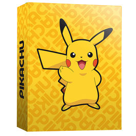 Carpeta A4 Pokemon Pikachu anillas