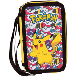 Plumier Pokemon Pikachu triple