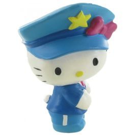 Figura Hello Kitty policia