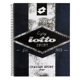 Bloc Lotto Grunge A4 microperforado 120h