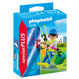 Playmobil Special Plus Windows cleaner
