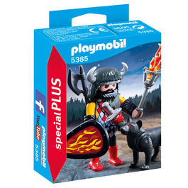 Playmobil Special Plus Warrior and wolf
