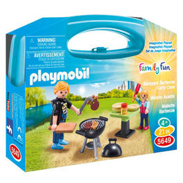 Playmobil Family Fun Barbecue carry case