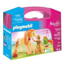 Playmobil Princess with horse carry case