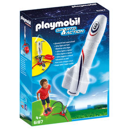 Cohete con Propulsor Playmobil Sports Action